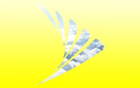Sprint logo cloudy