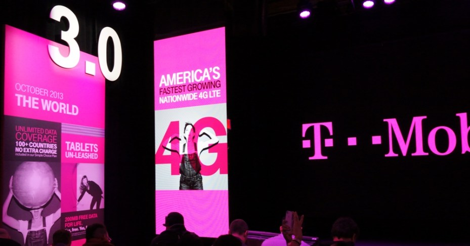 T-Mobile at the 2014 International CES.