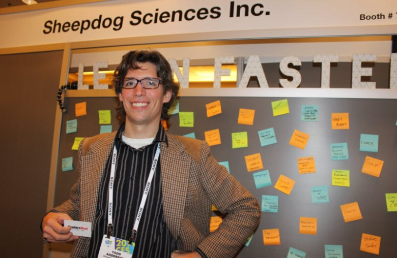 Todd Anderson is a co-founder of Sheepdog Sciences.