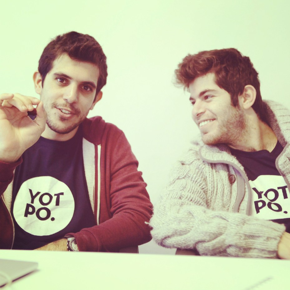 Yotpo cofounders Tomer Tagrin and Omri Cohen.