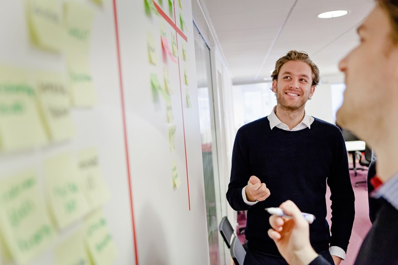 Saffelo cofounder and CEO Frank Schuil