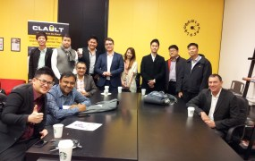 This group of Singapore-based startups arrived in San Francisco Sunday night.
