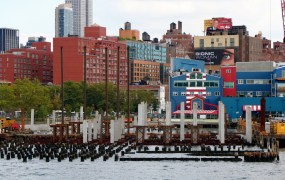 New York City's Chelsea Piers, home to the Docurated office.