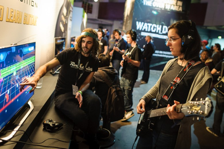 The last Eurogamer Expo, which is now known as EGX London.