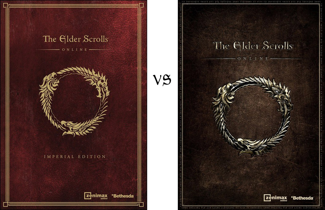 eso-imperial-vs-standard Elder Scrolls Online Imperial Edition Ps4