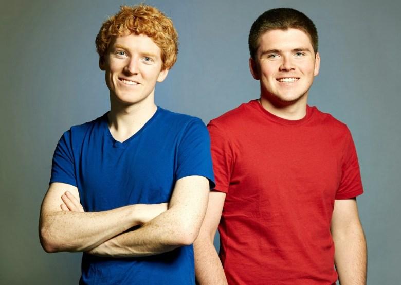 Stripe cofounders John and Patrick Collison