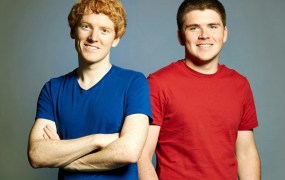 Stripe cofounders John and Patrick Collison