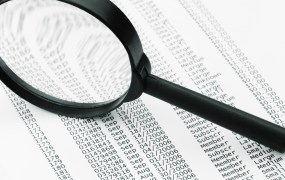 Magnifying glass spreadsheet shutterstock kuzma