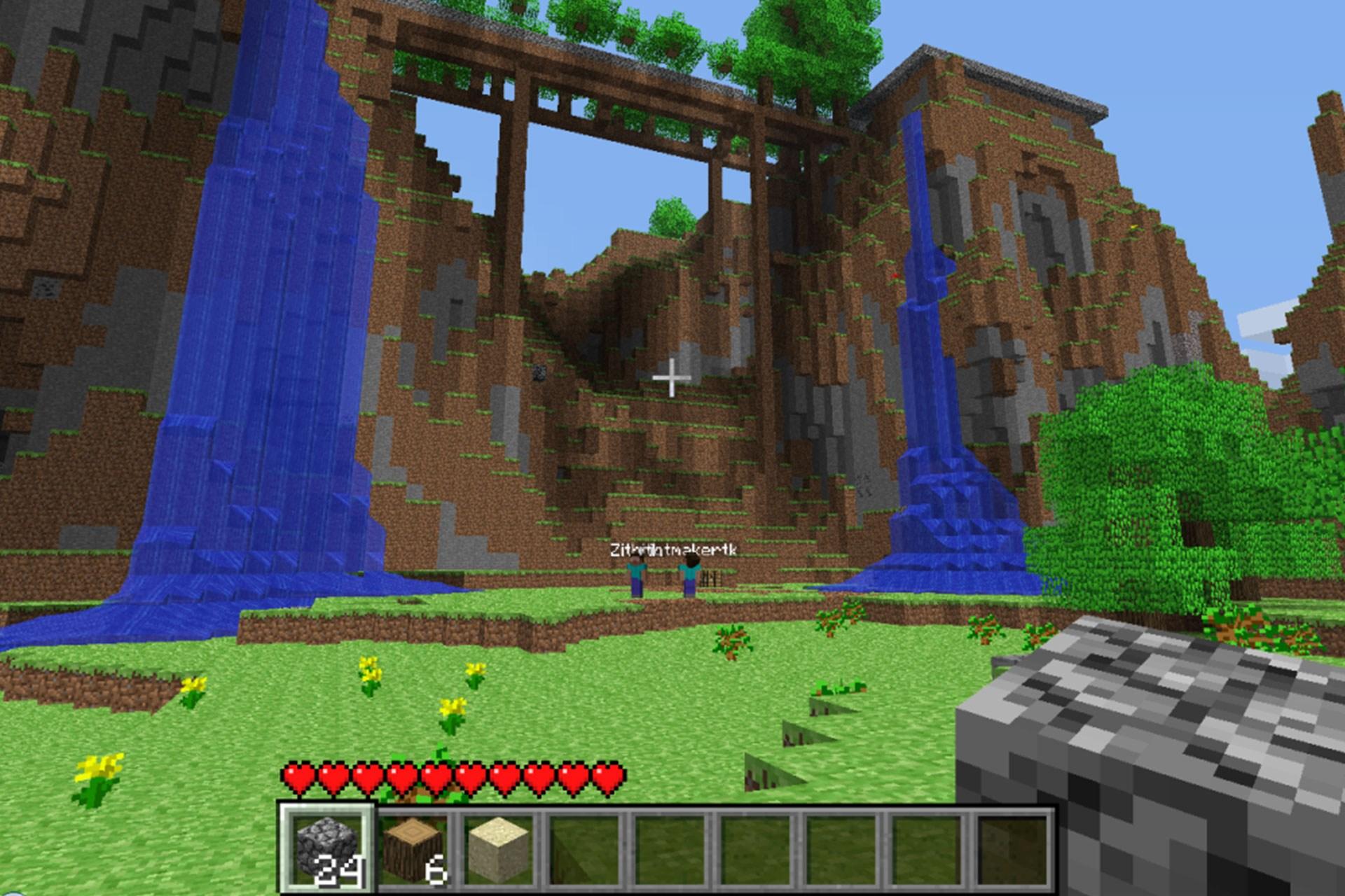 Mojang's block-building game Minecraft is still so huge.
