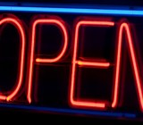 open neon sign Chip Griffin Flickr