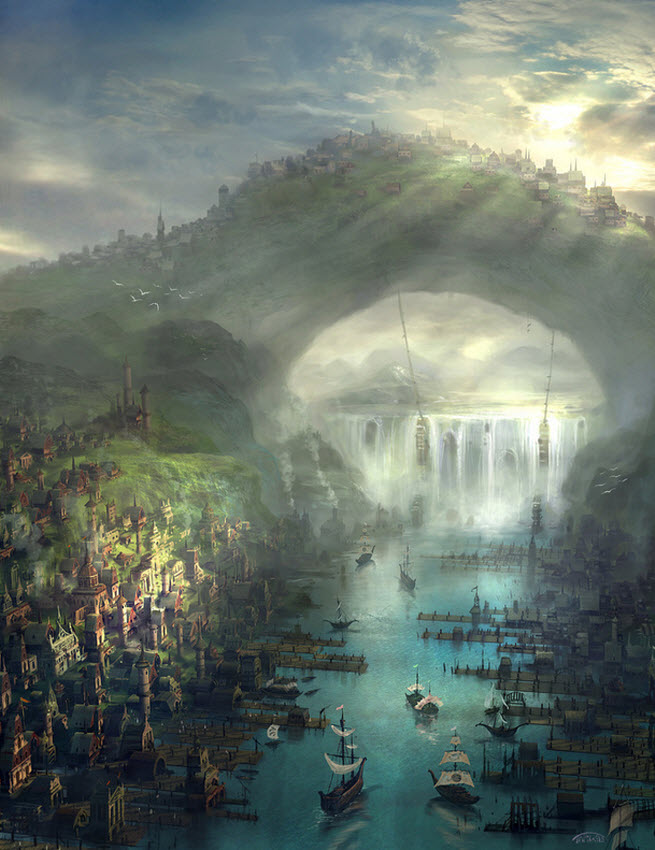 The concept world for Pantheon