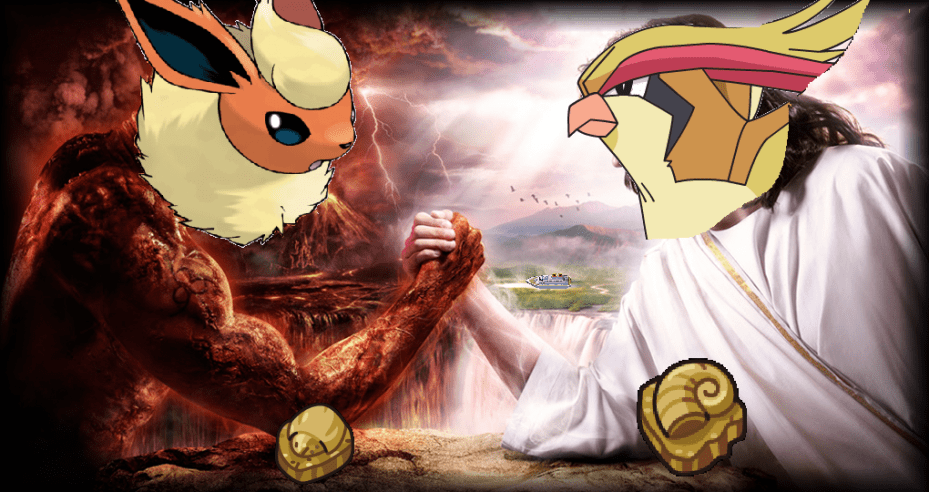 The two prophets of the Twitch Plays Pokémon religions.