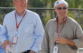 Rackspace executives Graham Weston (left) and Lanham Napier