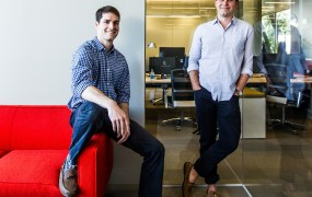 Daniel Lewis and Nik Reed, cofounders of Ravel Law