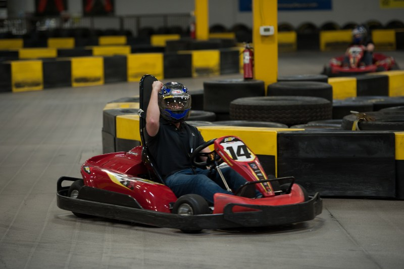 The Dice Summit opened with Go-Kart racing and golf.