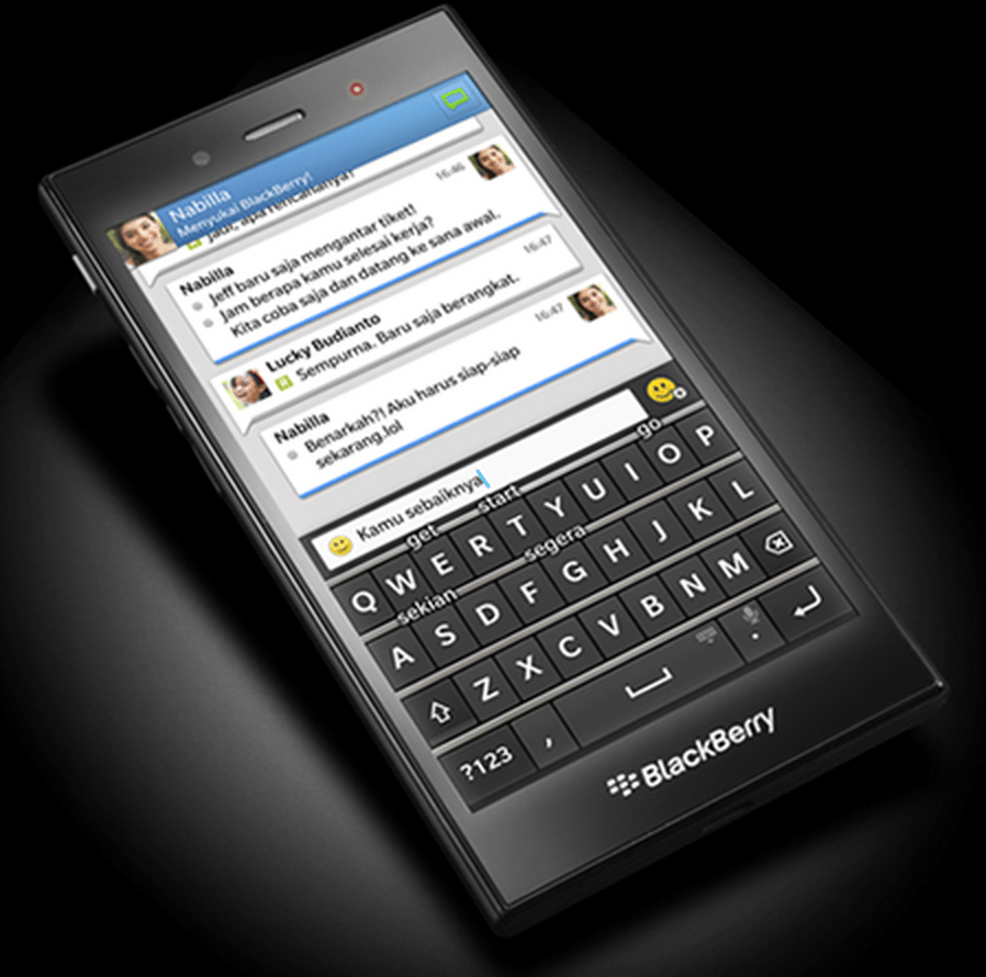 The BlackBerry Z3