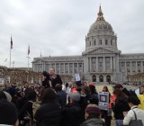 SOPA protests in San Francisco.