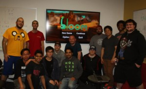 USC's Bloom team leaders. Khaled Abdel Rahman is in yellow on the far left.