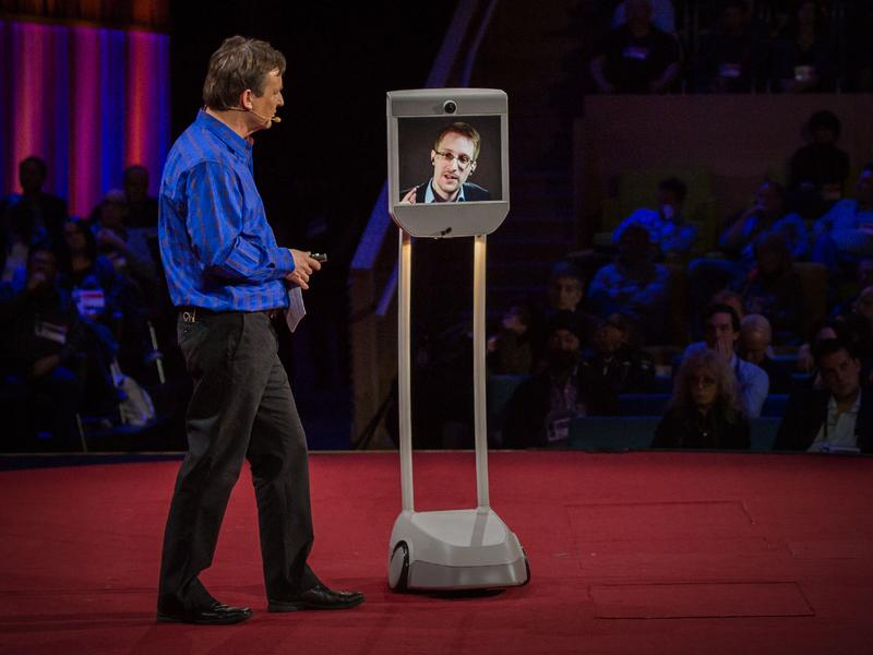 Snowden at Ted