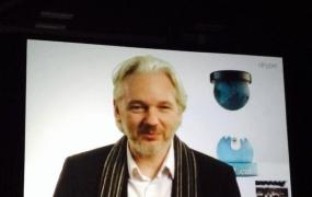 Julian Assange at SXSW