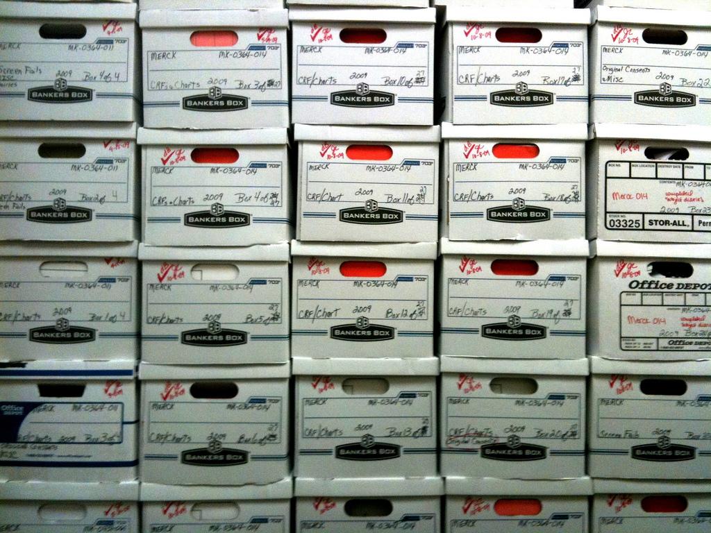bankers boxes gosheshe Flickr