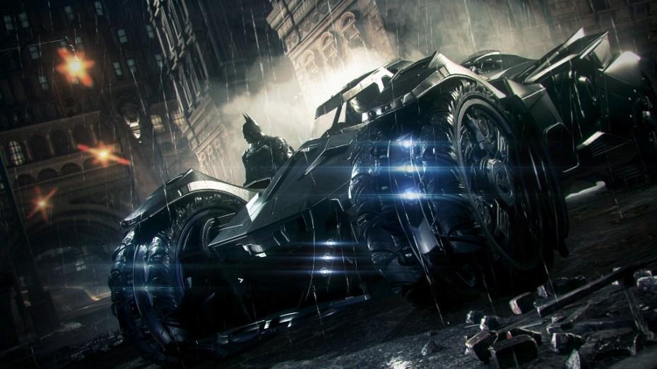 Batman: Arkham Knight -- The Batmobile