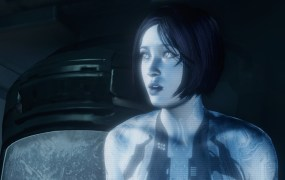 Cortana,  a character in Halo, owned by Microsoft