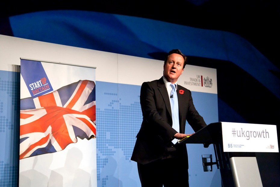 David Cameron Business Government Flickr
