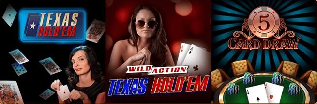 DoubleDown Casino's poker game.