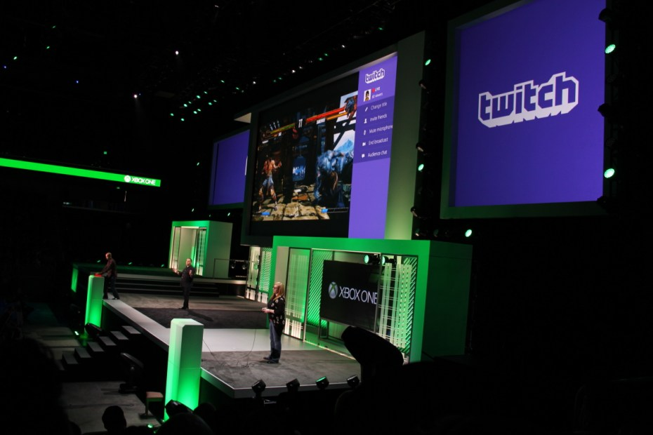 Twitch at E3 2013.