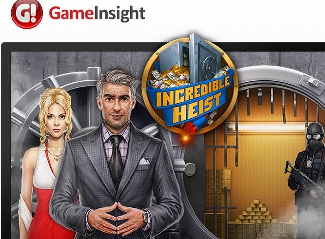Incredible Heist, one of Game Insight's many mobile titles.