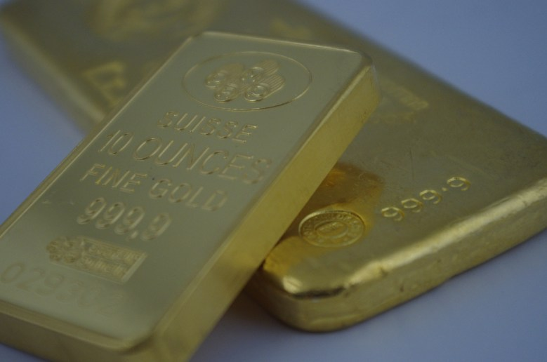 gold bars Sprott Money Flickr