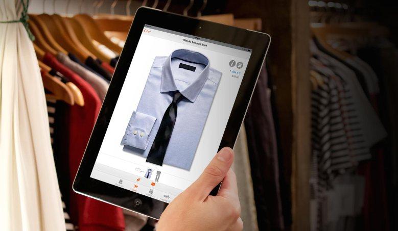 The Handshake iPad app.