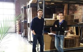 Shyp's founders Kevin Gibbon and Joshua Scott