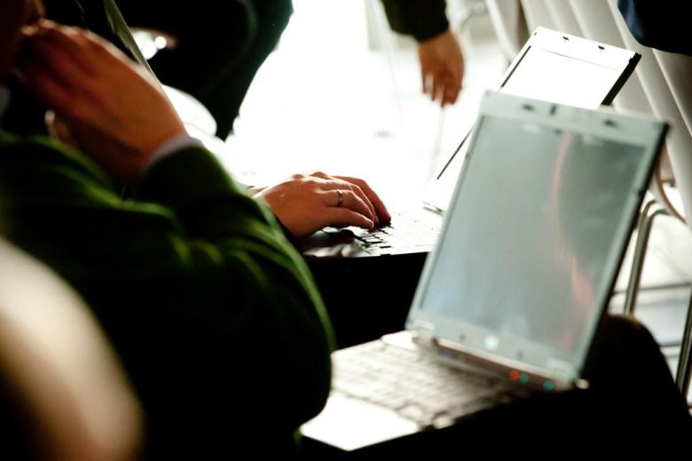 laptops conference Heinrich-Böll-Stiftung Flickr