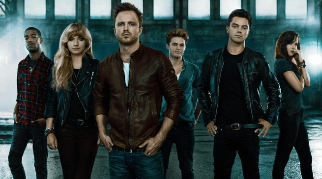 Need for Speed cast, led by Aaron Paul
