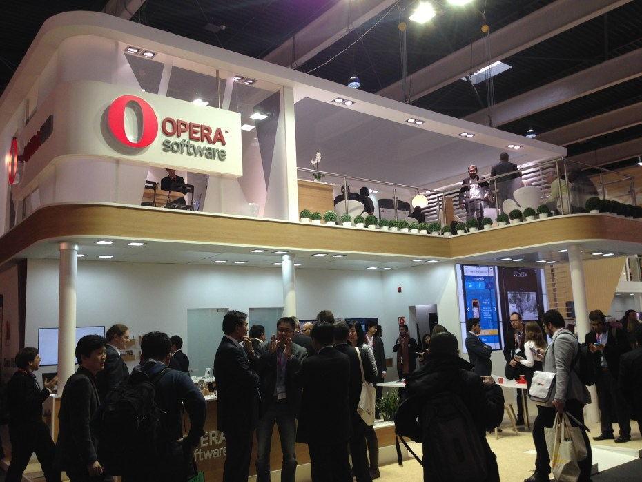 Opera at Mobile World Congress 2014