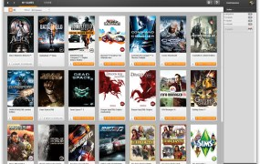 Electronic Arts' Origin service.