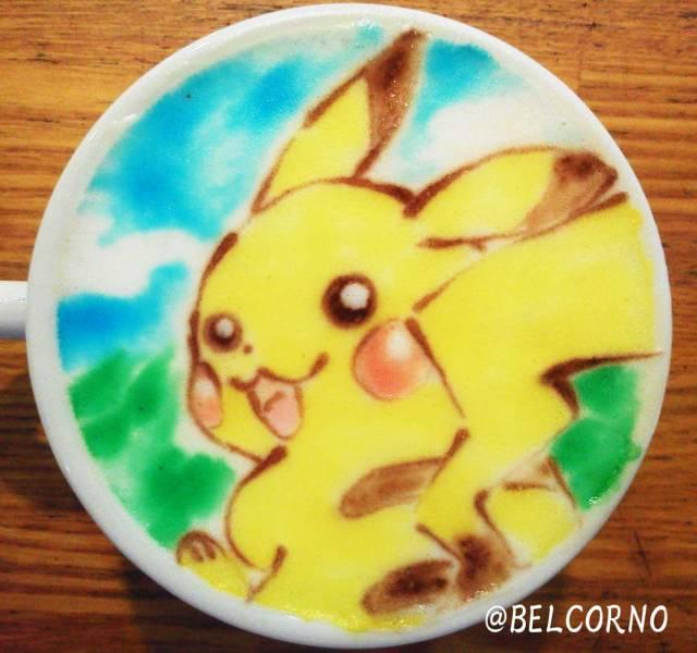 Pokémon's electric rat gets caffeinated.