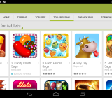 Some of the highest-grossing games on Android.