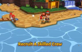 The high-seas adventure game Seabeard for mobile from HandCircus and Backflip Publishing.