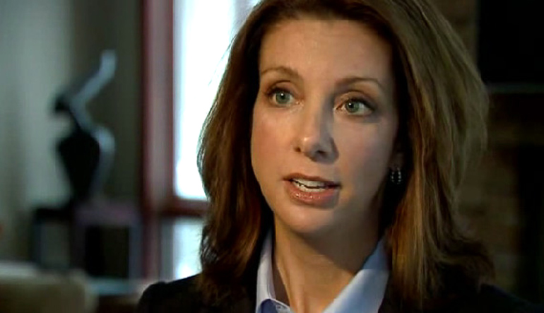 Shannon Watts from Moms Demand Action, who started the petition drive to get Facebook to alter its policies on gun-themed fan pages.