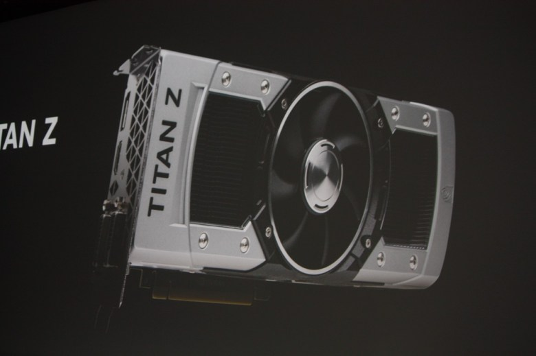 Titan Z, Nvidia's new high-end graphics card. It does 5K video -- and costs $3,000.