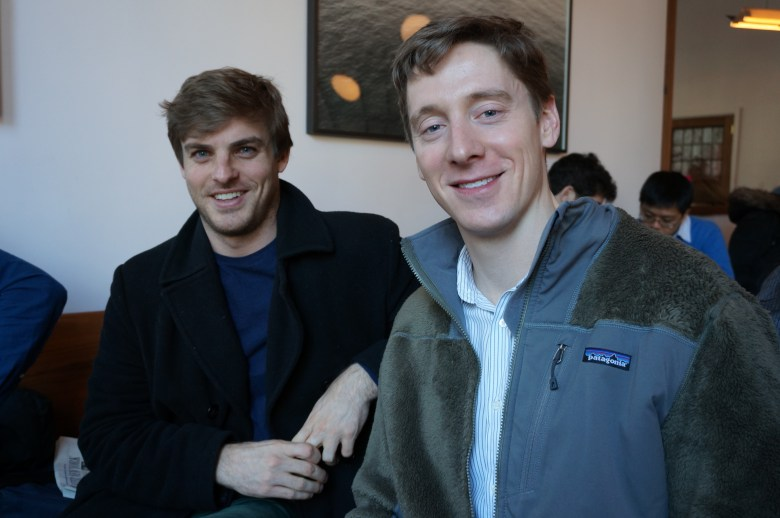 Treatings CEO Hayden Williams and CTO Paul Osetinsky in one of their favorite coffee shops.