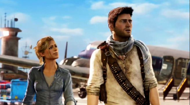 Uncharted's Elena Fisher and Nathan Drake