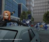 Scarlett Johansson! Wait, no. I mean -- Black Widow!