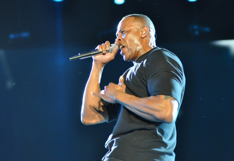 Dr. Dre, co-founder of Beats Music.