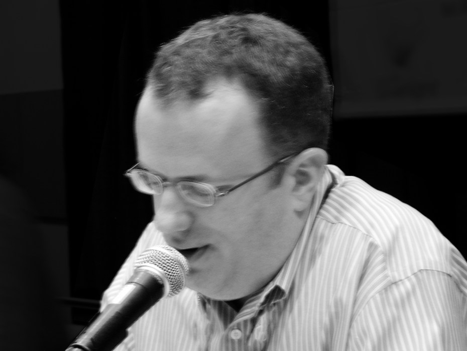 Mozilla CEO Brendan Eich speaking at a conference in 2008, the same year he made his infamous Prop. 8 donation.