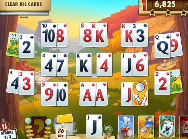 Fairway solitaire blast for Big fish solitaire games