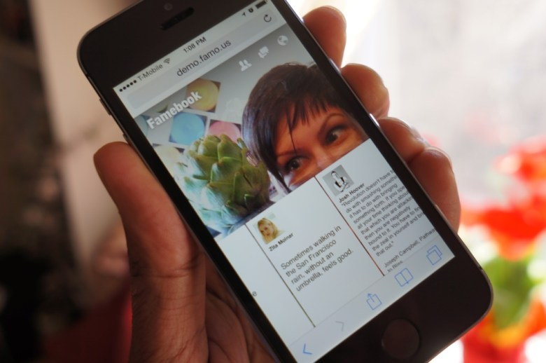 Facebook's Paper app recreated in the Famo.us framework